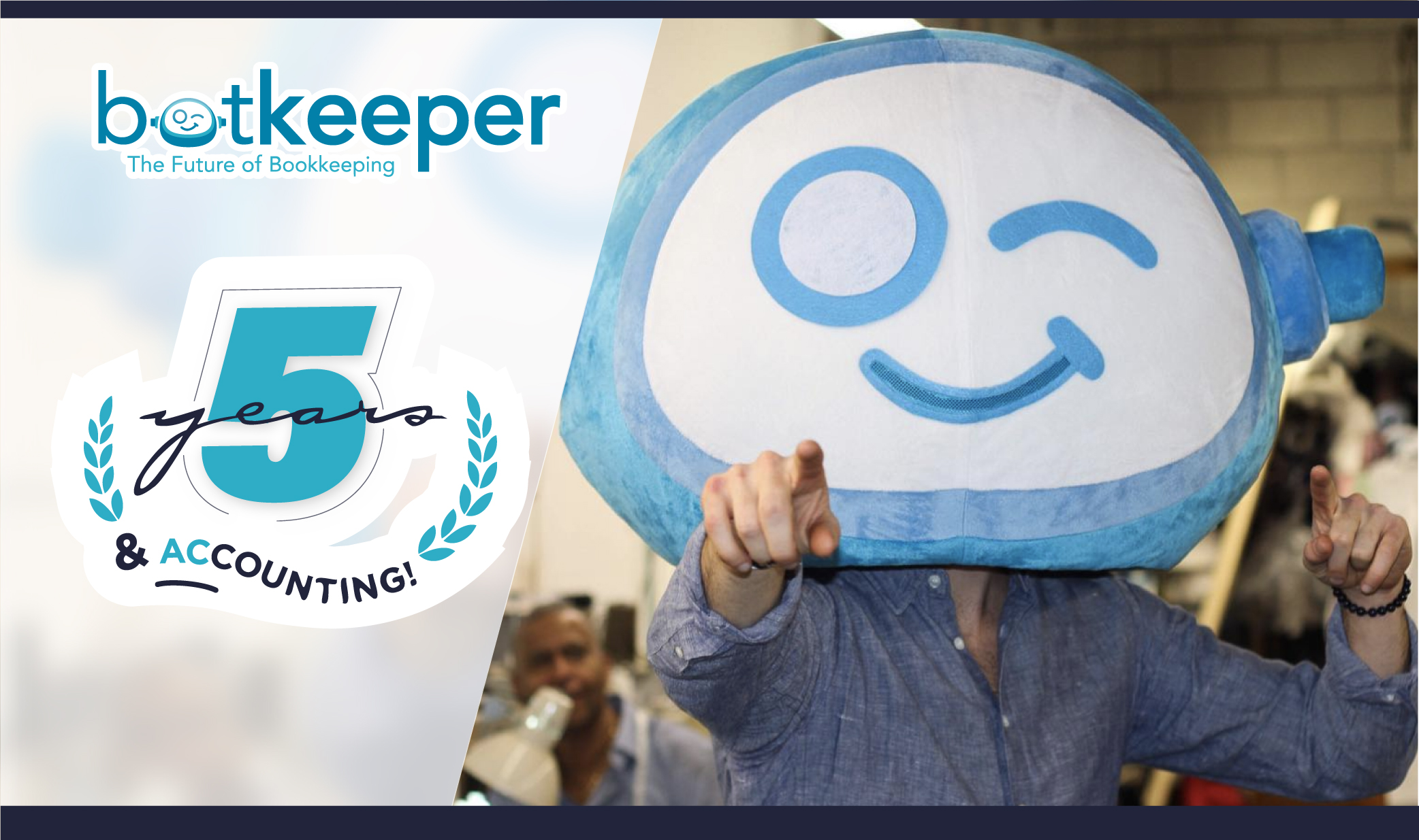 Botkeeper Celebrates Five Years & Accounting | Botkeeper