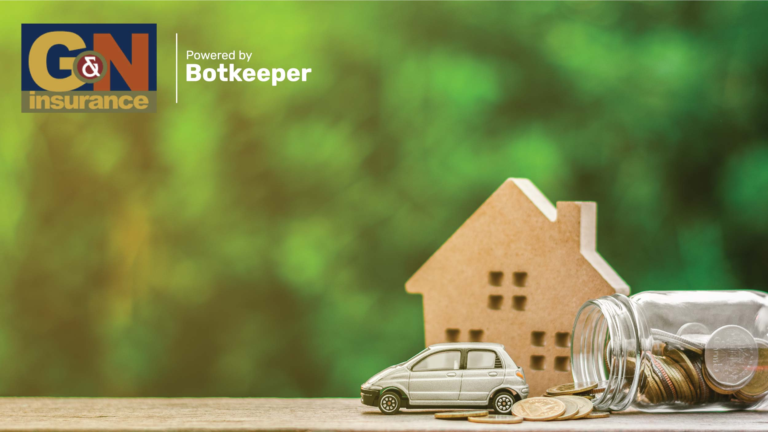 G&N Home and Auto Insurance Hero Image | Botkeeper