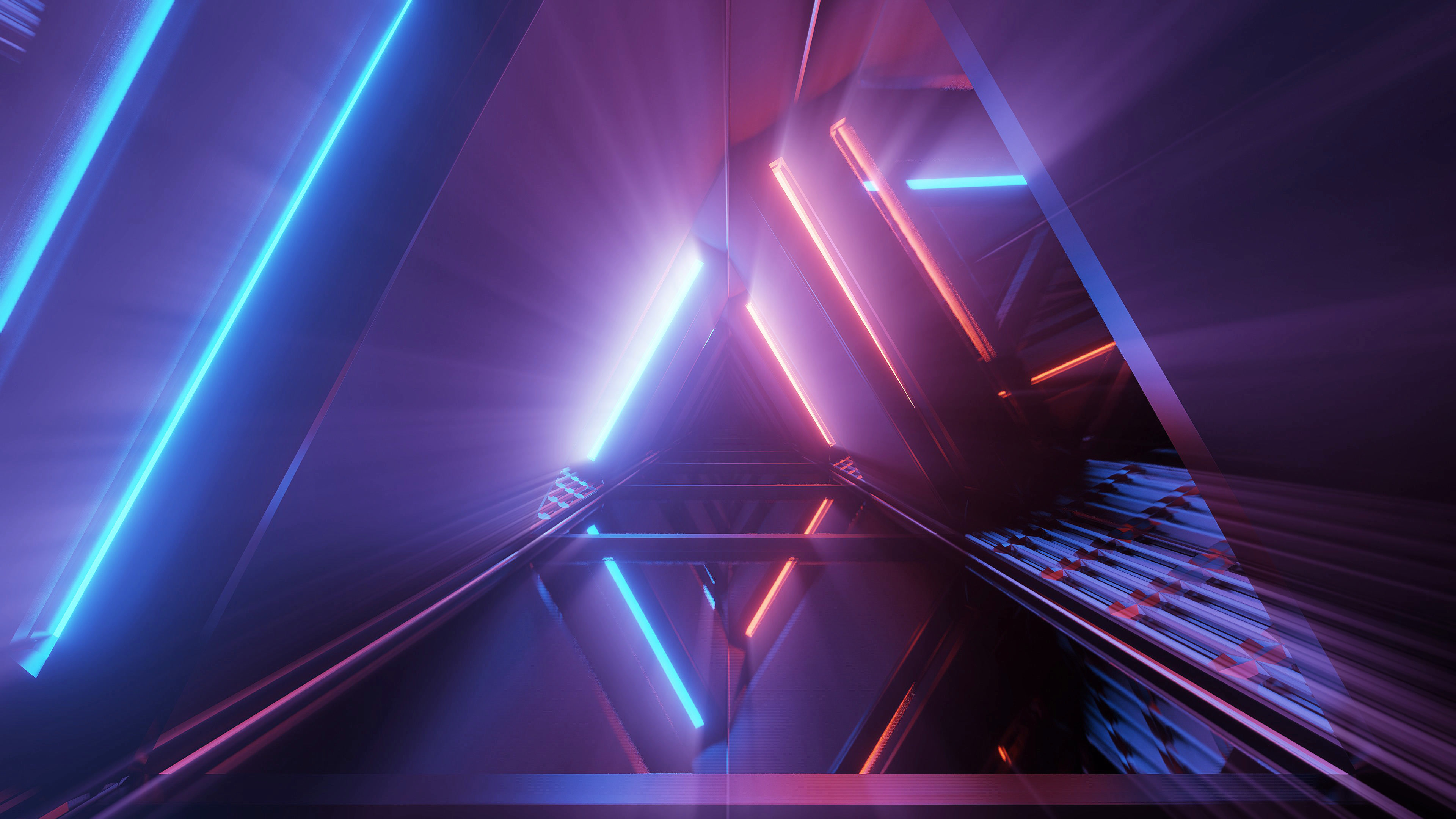 3d-rendering-futuristic-background-with-geometric-shapes-colorful-neon-lights