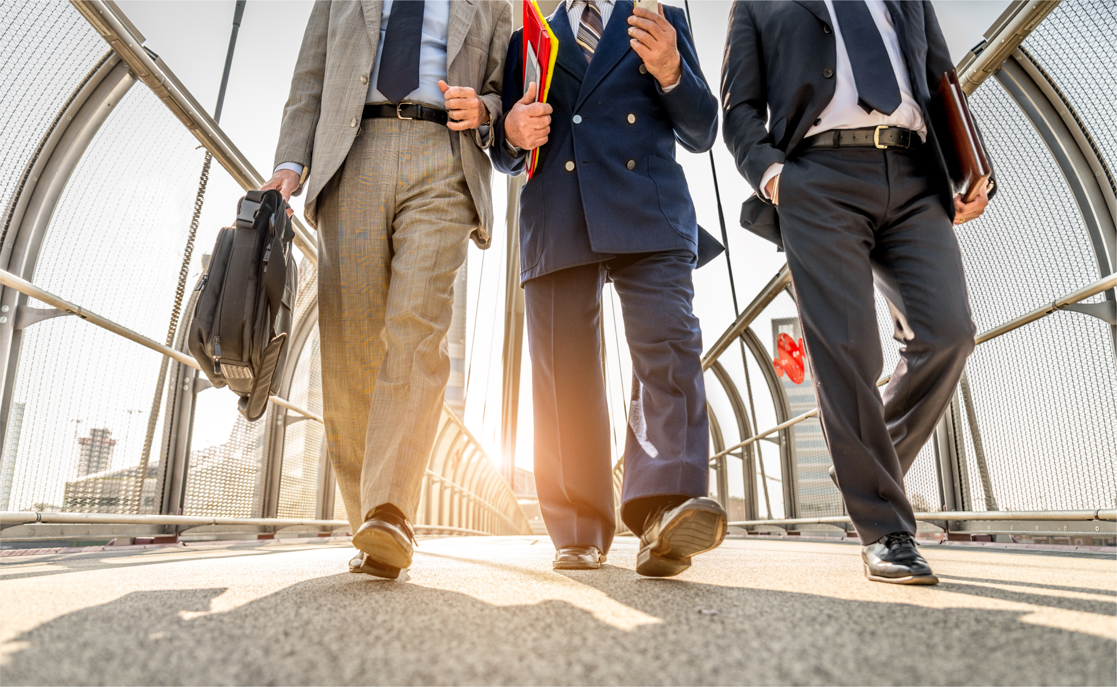 businessmen-walking-outdoors   Botkeeper