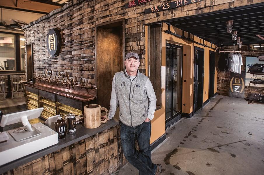 RussHeissner JF, Barrel House Z, botkeeper startup spotlight, boston brewery