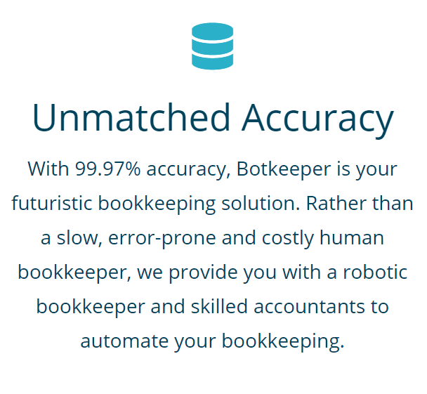 Botkeeper's automated bookkeeping is 99.97% accurate